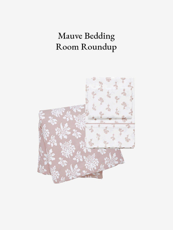 Mauve Bedding Room Roundup!