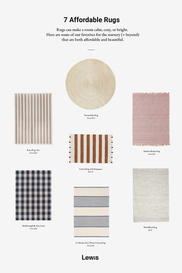 Affordable Rug Round Up