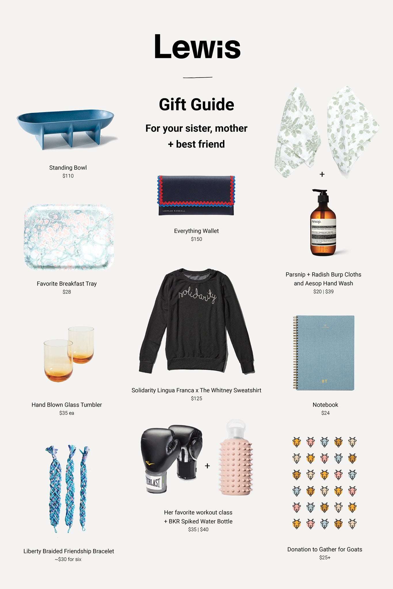 Gift Guide for Women by Lewis