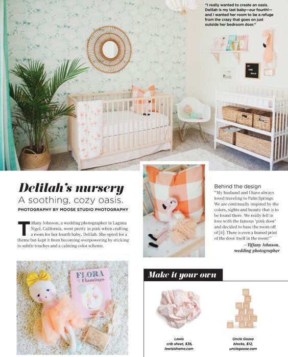 Lewis in Pregnancy and Newborn Magazine