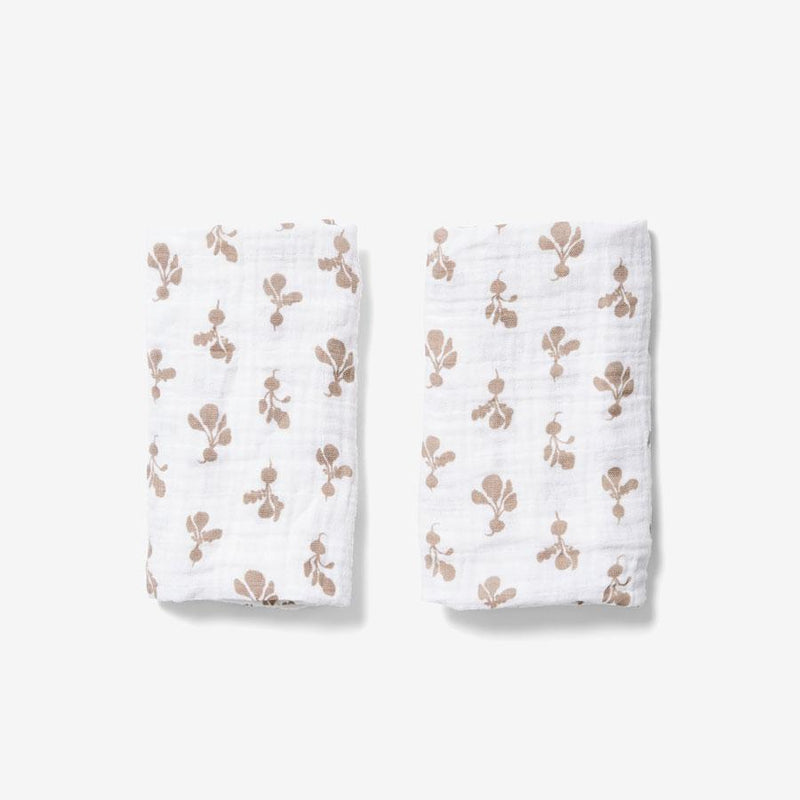 Burp Cloth Set - Mini Radish | Birch Burp Cloths Lewis