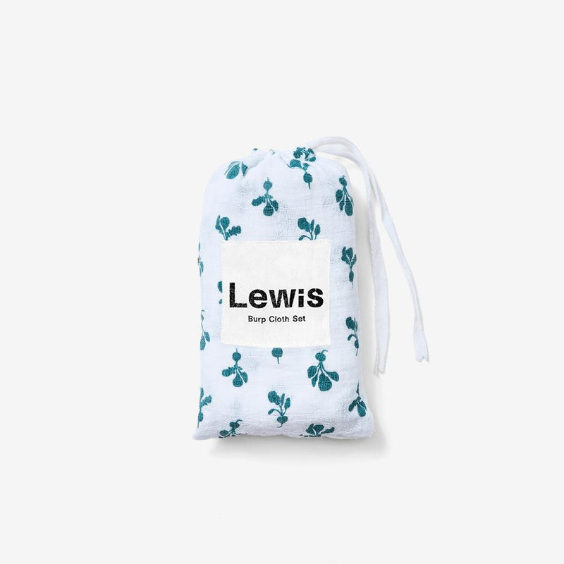 Burp Cloth Set - Mini Radish | Spruce Burp Cloths Lewis