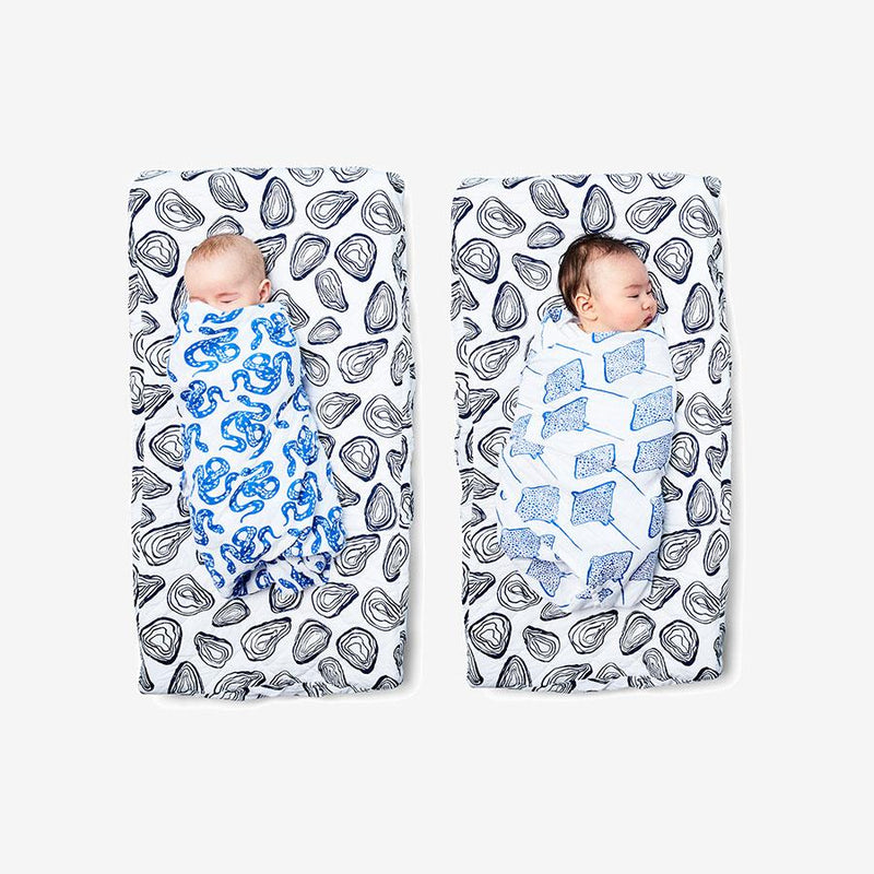 Swaddle - Stingray | Marine Swaddle Lewis