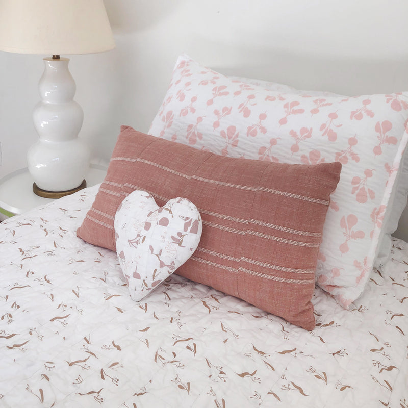 Heart Pillow | Pinks