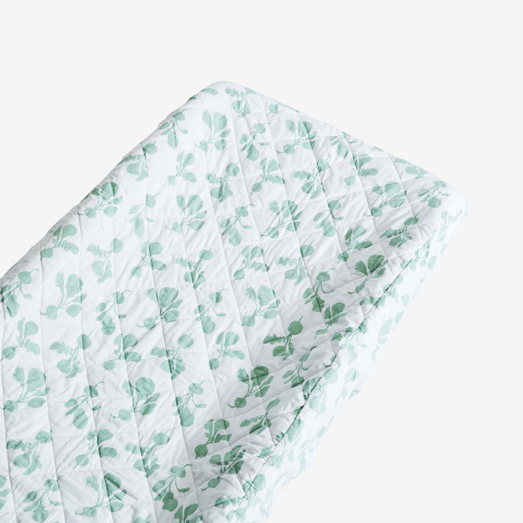 Changing Pad Cover - Radish | Agave