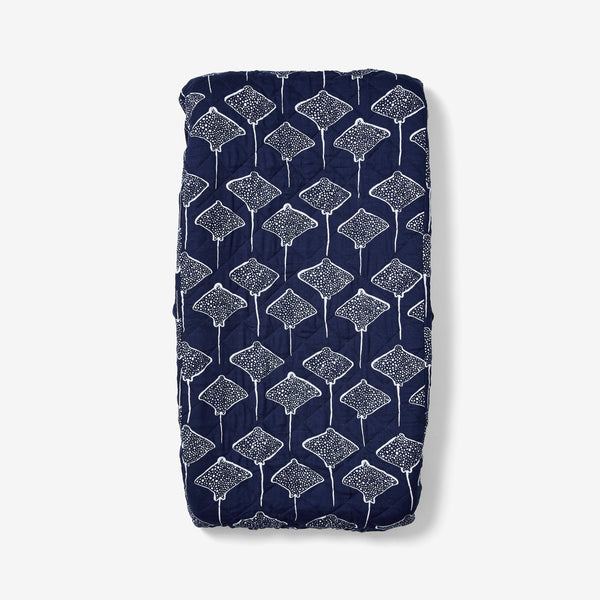Changing Pad Cover - Stingray | Denim Changing Pad Cover Lewis