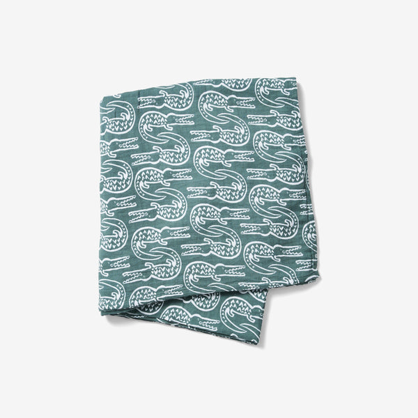 Swaddle - Alligator | Spruce Swaddle Lewis
