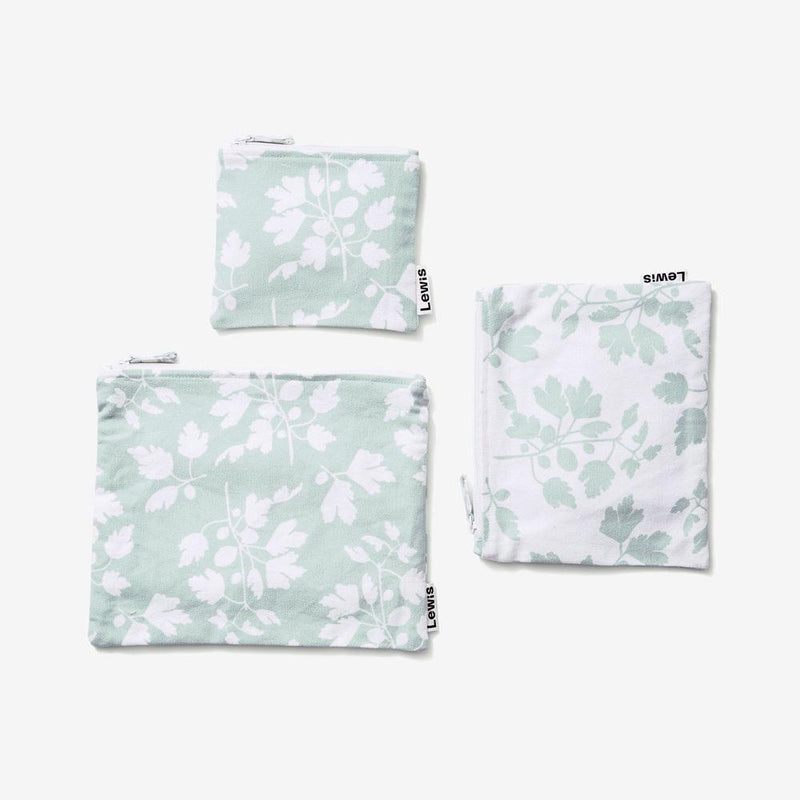 Zip Pouch Set - Fig | Agave Pouch Set Lewis