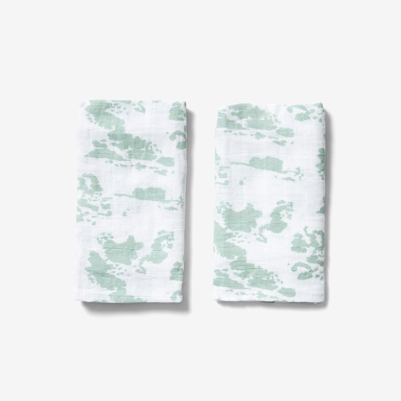 Burp Cloth Set - Clouds | Agave