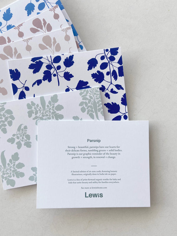 Botanical Note Cards - Mixed Prints | Set of 6