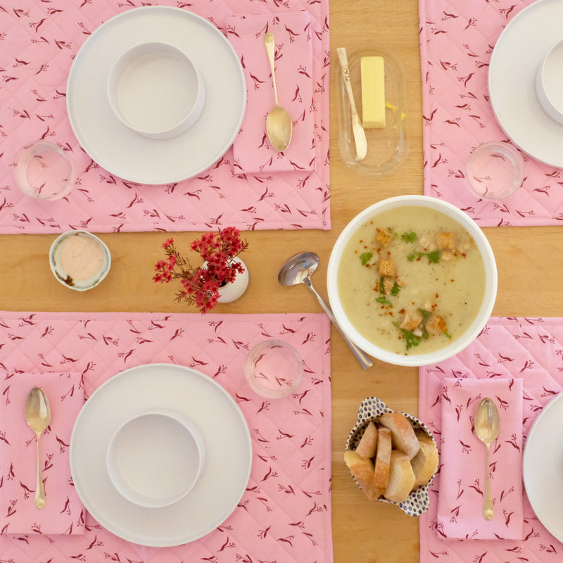 Quilted Placemat Set - Set of Four | Pods
