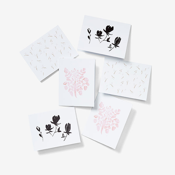 Art Print Note Cards - Mixed Prints | Set of 6
