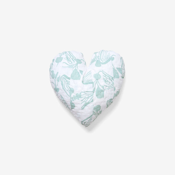 Heart Pillow | Green