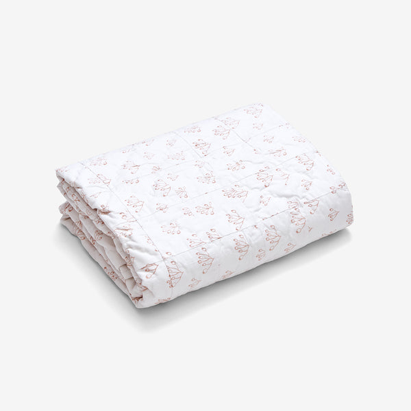 Baby Quilt - Rose Hip | Blush