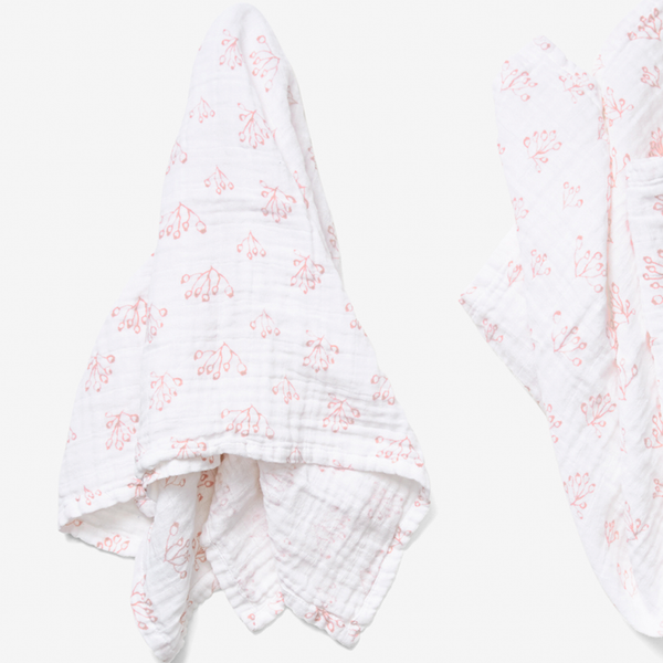Burp Cloth Set - Rose Hip | Blush