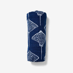 Swaddle - Inverse Stingray | Denim Swaddle Lewis