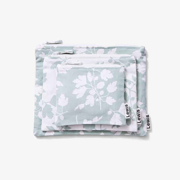 Zip Pouch Set - Fig | Agave
