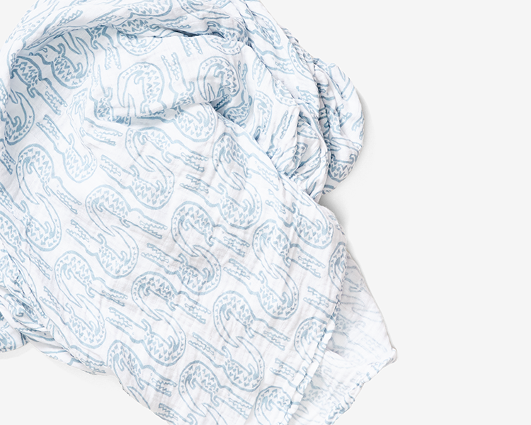 Swaddles are the best and most versatile baby gift. Made from 100% organic cotton muslin.