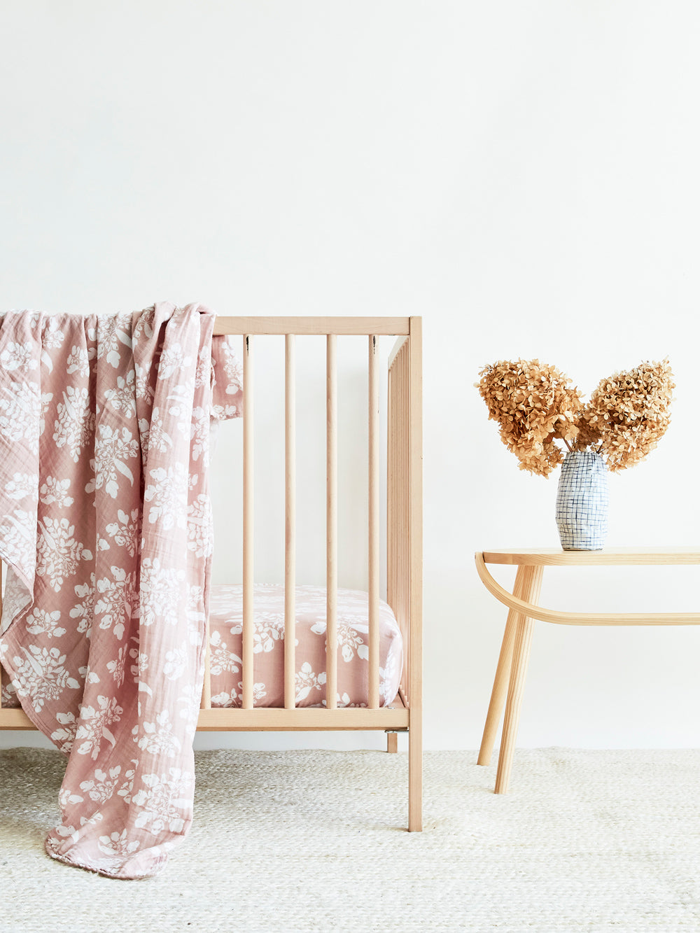 Our Dusty Pink - Nursery Look