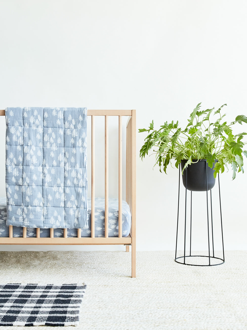 Coastal Blues - Nursery Look