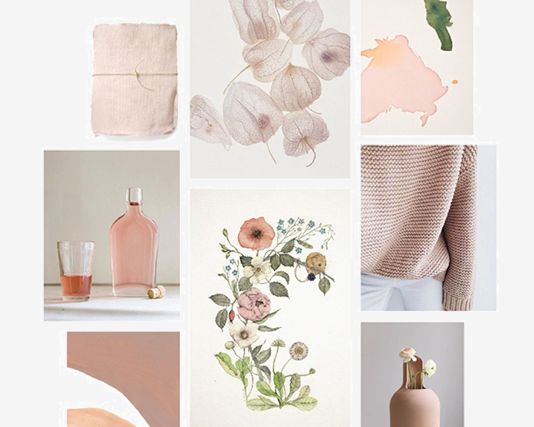 Blush by Lewis organic textiles for baby + kids