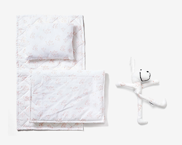 A special collection of giftable items made from our printed organic cotton textiles.