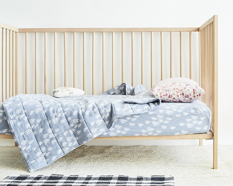 Lewis makes the best 100% organic cotton crib sheets for baby and kids