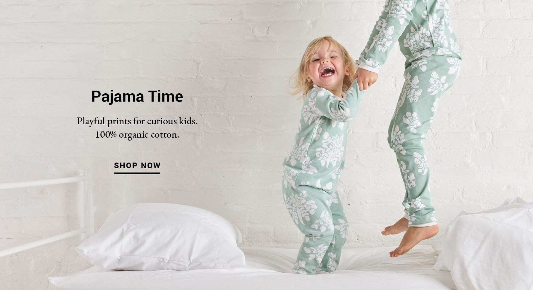 Lewis pajamas are 100% organic cotton in playful prints for curious kids.