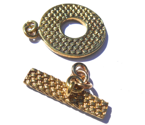 Basketweave Toggle Clasp