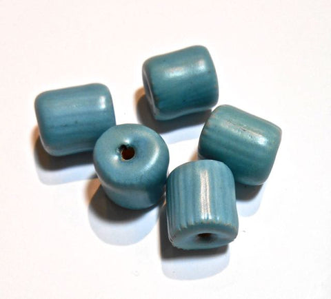 Barrel: Matt Turquoise with Grooves