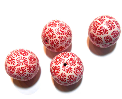 Bindu - Red and White