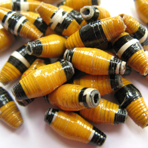 Recycled Paper Beads: Dodo