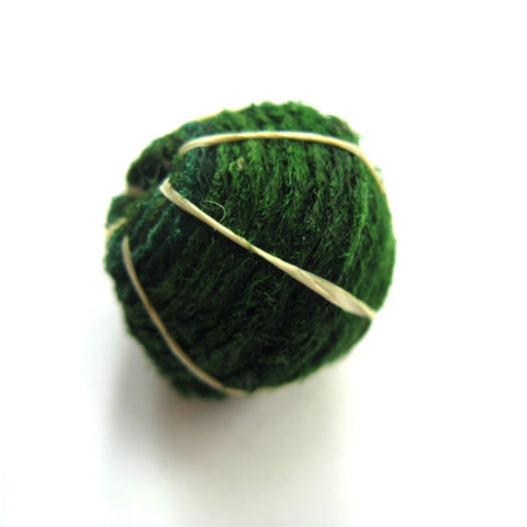 Barkcloth Bead - Medium