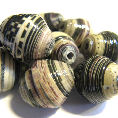 Recycled Paper Beads - Omo