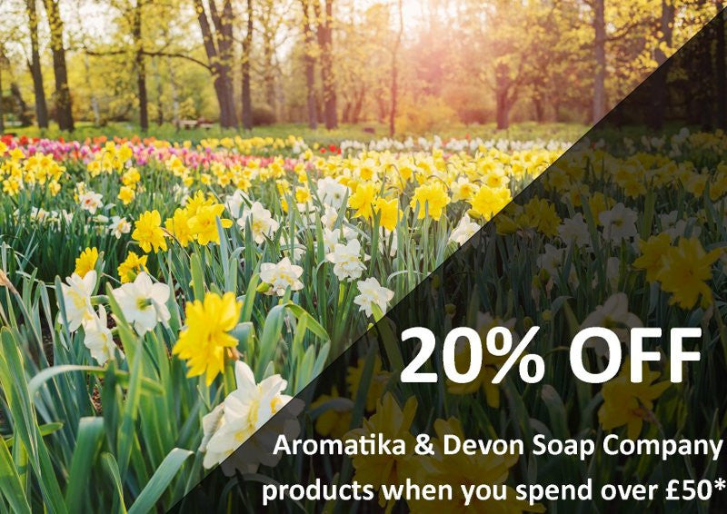 *OFFER OVER* 20% Off Aromatika Products : Online & In-Store