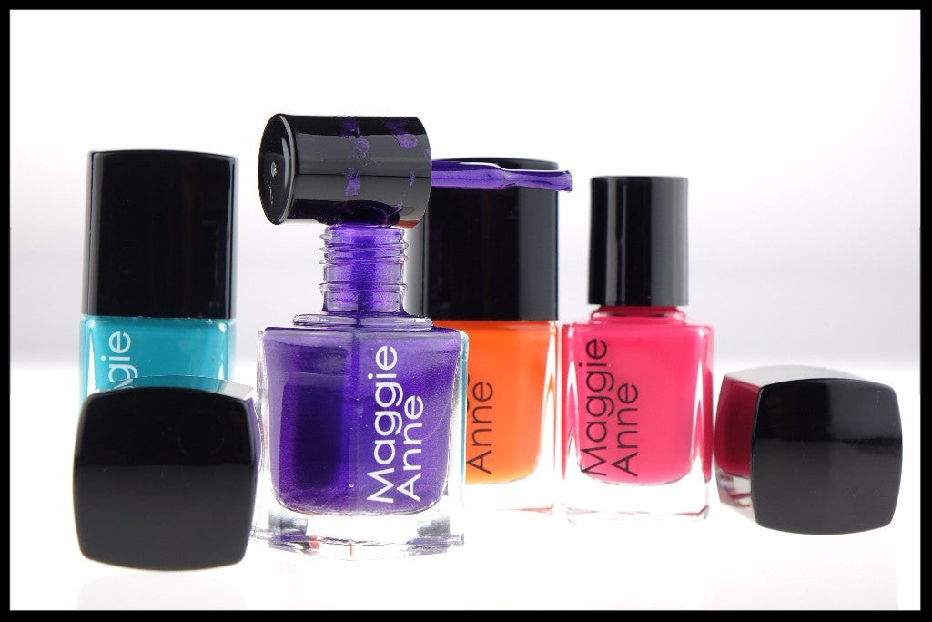 "Maggie Anne Nail Polishes listed in Top 5 by ""The Independent"""