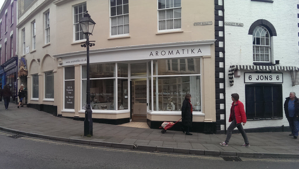 Glastonbury welcomes the new Aromatika store today