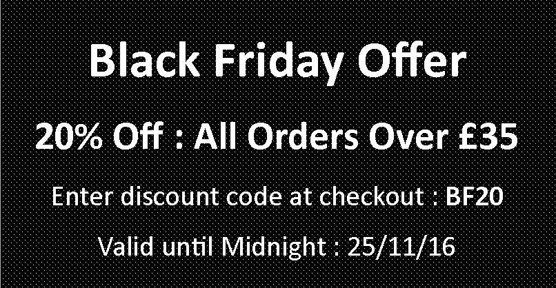 Offer Over Now : 20% off orders over £35 on Aromatika.co.uk : Black Friday Special
