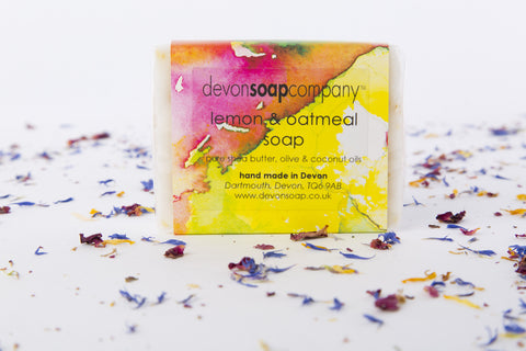 Lemon & Oatmeal Soap