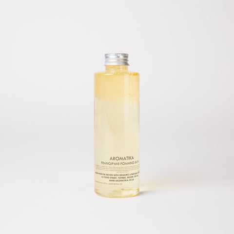 Luxury Frangipani Foaming Bath