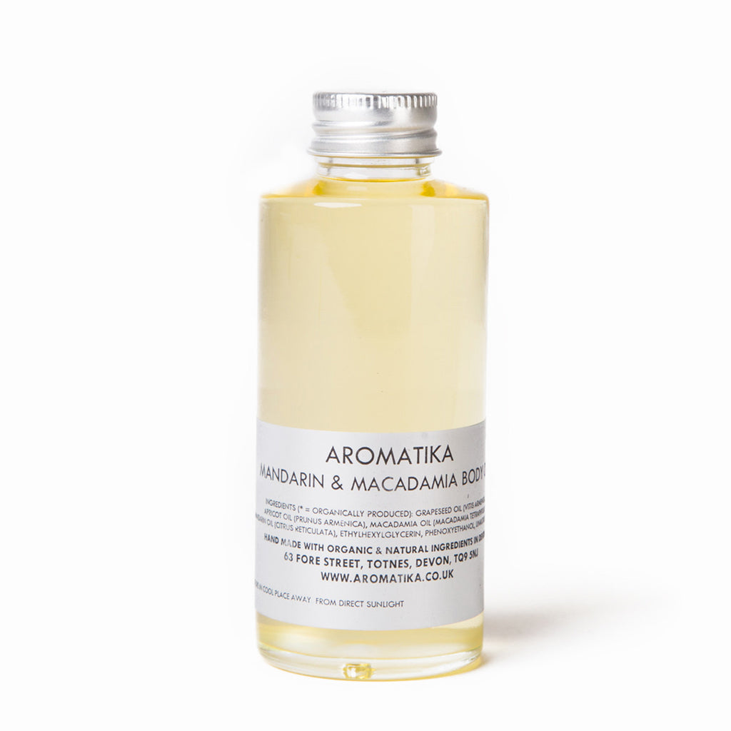 Mandarin & Macadamia Body Oil