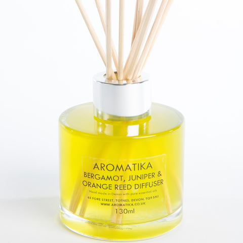 Bergamot, Juniper & Orange Reed Diffuser