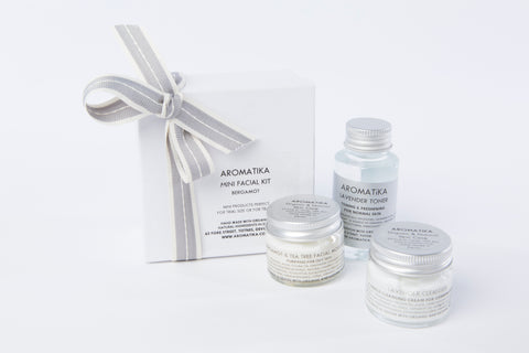 Bergamot & Tea Tree Mini Facial Kit