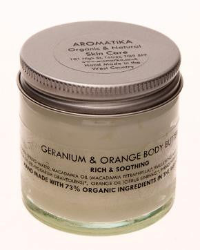 Geranium & Orange Body Butter