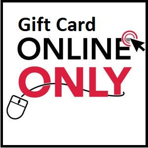 Gift Card -  FOR USE ONLY ON THIS WEBSITE