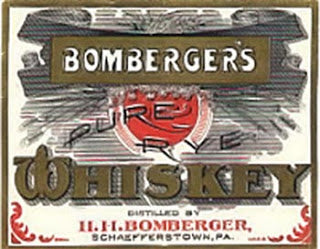 bombergers whiskey pa pennsylvania