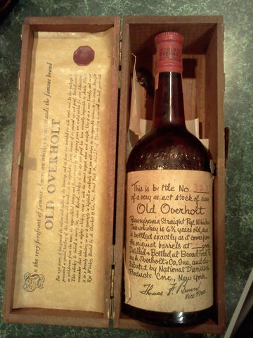 old overholt whiskey mennonite