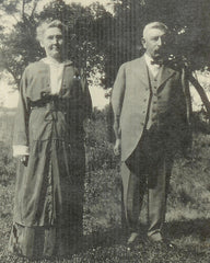 Sam and Anna B. (Claudon) King