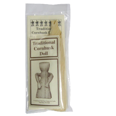 Traditional Cornhusk Doll Kit - Historical Toys
