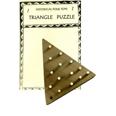 Triangle Puzzle - Historical Toys